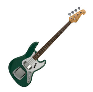 SX ELECTRIC JAZZ BASS STYLE IN VINTAGE GREEN - WITH GIG BAG 8694GR