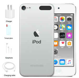 128GB Apple iPod touch - Silver 7th Generation Portable Audio ...