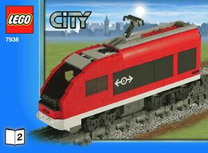 Lego-7938-2-moteur-amp-power-fonctions-Split-de-7938-Train-de-voyageurs-ensemble-NEUF