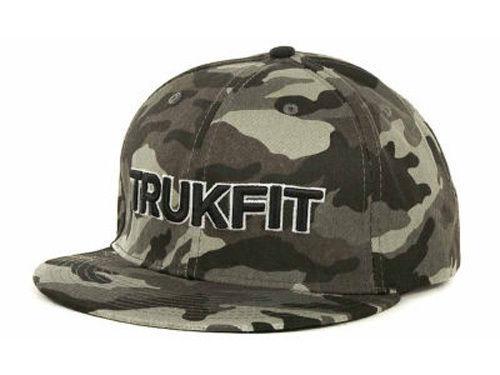 CAP Wayne Adjustable $32 TRUKFIT ORIGINAL CAMO Snapback Hat Black Grey OSFA