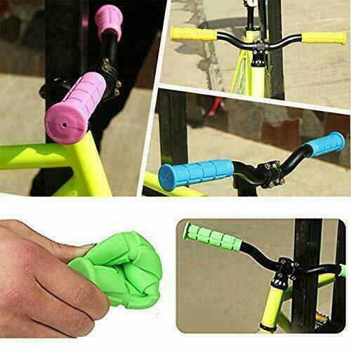 Hand Grips Bar étanche Antidérapant Rose Doux Mountain Bicycle Scooter-MTB BMX