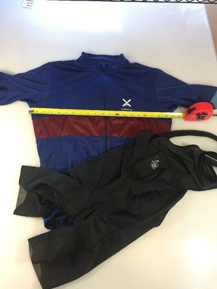 Admontem Cycling Jersey And Bib Shorts Large L (5686)