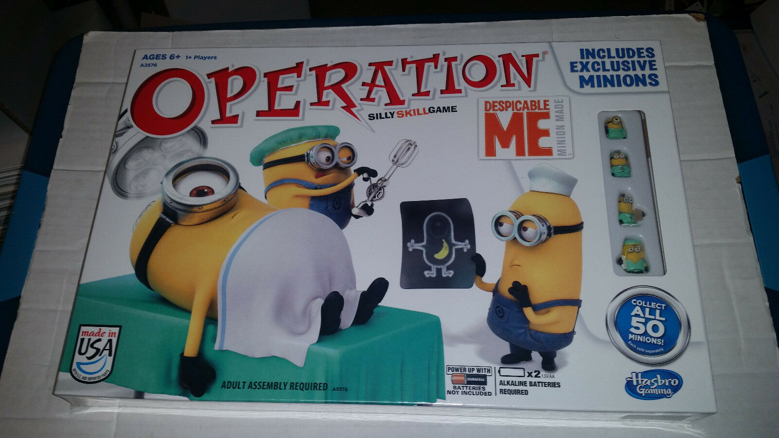 Despicable Me Operation Game NEW SEALED