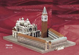 Souvenir-Italia-Venezia-Piazza-S-Marco-3D-resina-23X13-cm-Arte-Storia-by-Paben