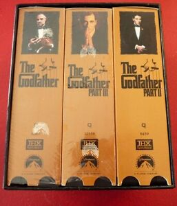 VHS-Movie-Box-Set-The-Godfather-Collection
