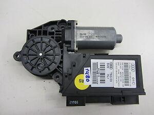 Org-Audi-S8-A8-4E-Leve-vitre-4E0910802A-4E0959801C-Window-Motor-Moteur-Porte