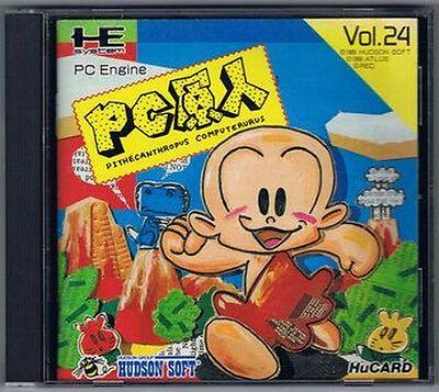 PC GENJIN 1 NEC PC Engine HuCARD Turbografx 16 JAPAN