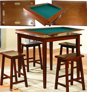 Beau Image Is Loading Harvard 5 Piece Family Game Table Square High