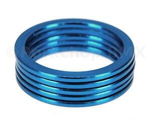 "BLUE ANODIZED Aluminum alloy BMX or MTB bicycle headset 1 1//8/"" threadless"