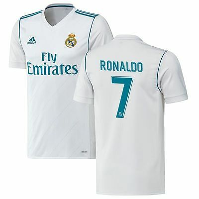 competitive price 772f1 242c7 adidas Real Madrid 2017 - 2018 C. Ronaldo #7 Home Soccer ...