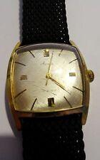 Vintage Art Deco Herrenuhr Armbanduhr Mauthe 17 Rubis Handaufzug Flechtband