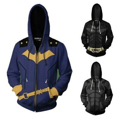 Yu-Gi-OH Fudo Yusei Cosplay Costume Unisex Zip Hoodie Sweatshirt Jacket Coat