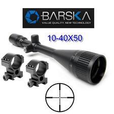 Barska Varmint Rifle Scope 10-40x50 AO w-Tall H.D. Rings Sniper Optics AC11084