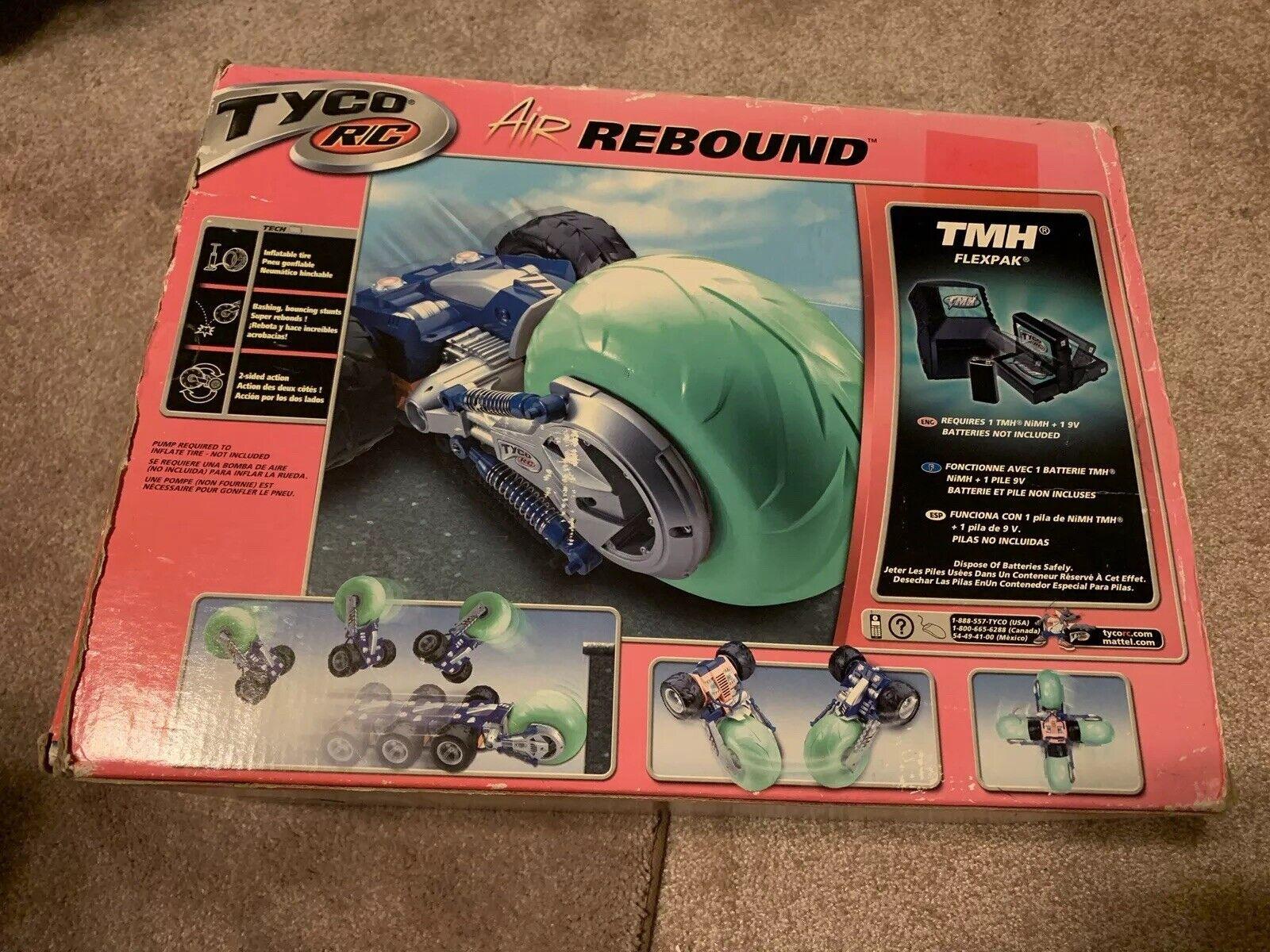 Vintage Tyco R C Air Rebound Remote Control auto  2001 Rare giocattoli  consegna e reso gratuiti