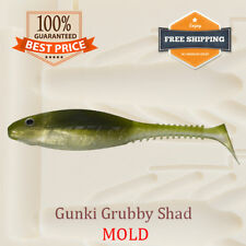 🔥 Keitech Swing Impact Fat Soft Plastic Bait Mold Mould