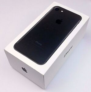 iPhone 7 Genuine Retail Box 128gb Black BOX ONLY | eBay