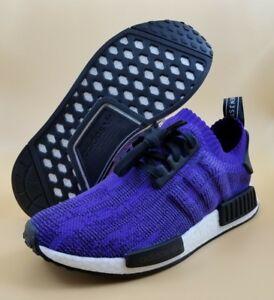 size 40 a240c e310e Details about Adidas NMD R1 PK PrimaKnit Originals Boost Purple Men Shoes  SIZE 8 9 13 $140