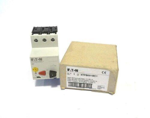 CUTLER HAMMER XTPB001BC1 N 0.63-1.0A 600V 3P NEW PKZM01-1