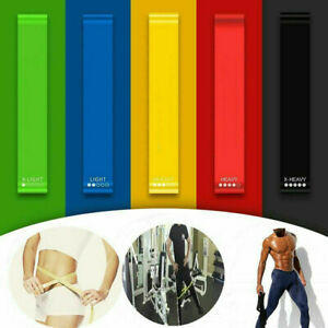 Newly-Resistance-Exercise-Band-Yoga-Gym-Fitness-Training-Stretch-Elastic-Rubber