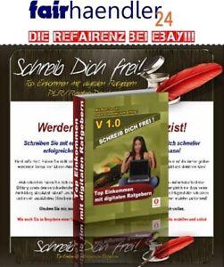 SCHREIB-DICH-FREI-Top-Einkommen-mit-selbstgeschriebenen-eBooks-NEU-PLR-RESELLER