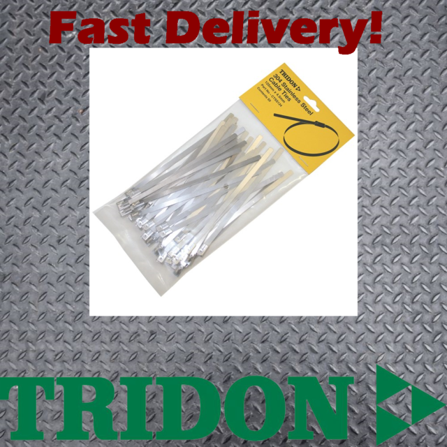 Tridon Stainless Steel Cable Ties - CTSS124