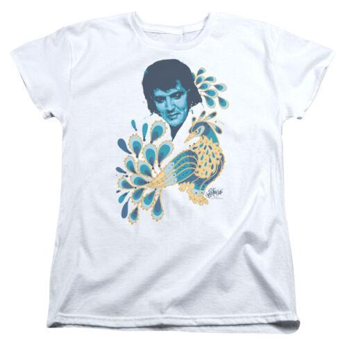 Elvis Presley PEACOCK Licensed Women/'s T-Shirt All Sizes