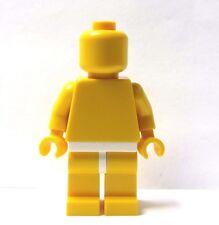 Lego  Plain Yellow Minifigure Minifigures  Yellow  Head Body Legs White Hips