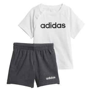 Marca comercial rumor Peregrinación  Adidas bebé Conjunto Pantalones de Correr de moda de verano Niños Infantes  Niños lineal nuevo DX2454 | eBay