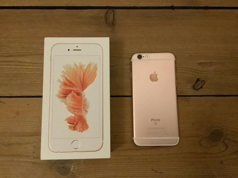 iPhone 6S, 128 GB, pink