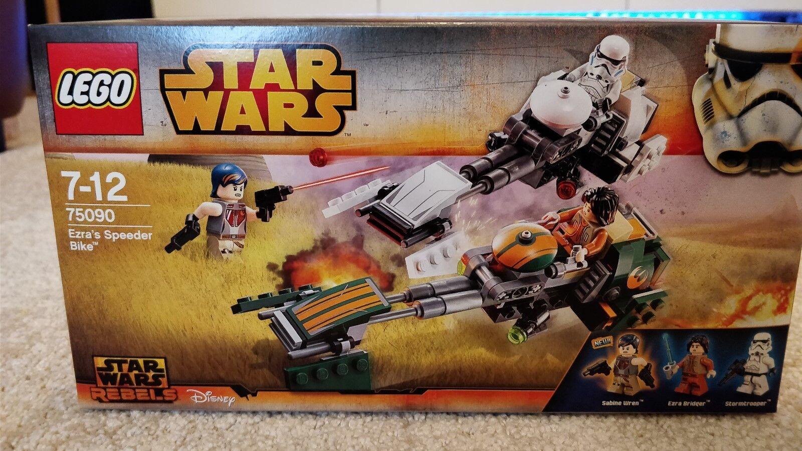Lego Star Wars Rebels 75090 Ezra's Speeder Bike NEW SEALED BNISB