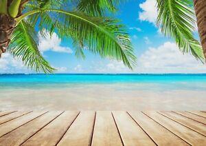 A1-Cool-Beach-Ocean-Scene-Poster-Art-Print-60-x-90cm-180gsm-Wall-Decor-13251