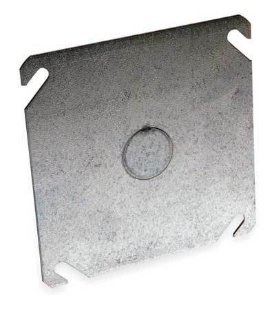 RACO 753 Cover,Blank,Square Box