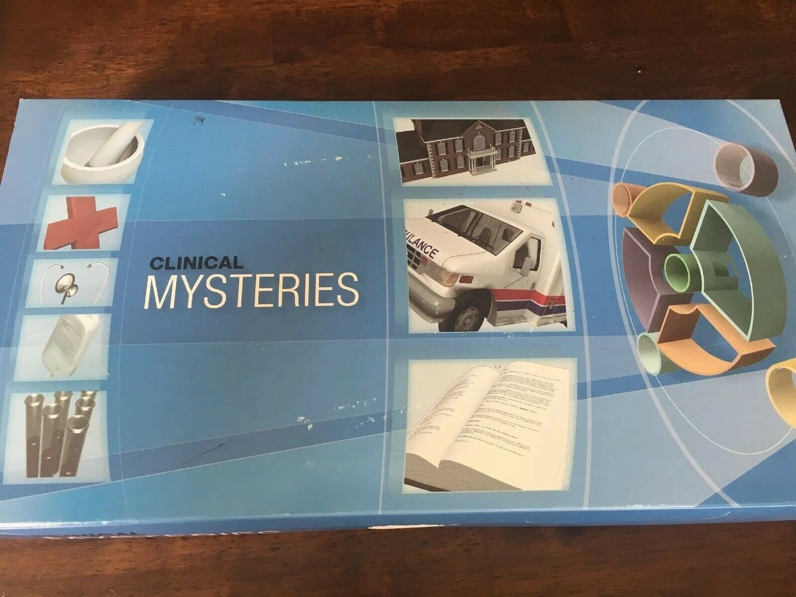 CLINICAL MYSTERIES GAME   By Amgen  NEW  Extremely Rare