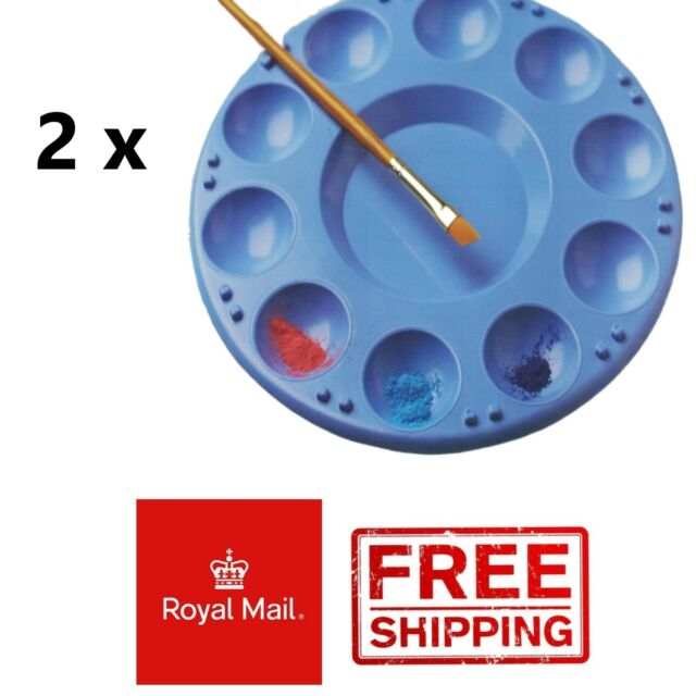 Great for Painting Mont Marte Deep Well Plastic Paint Palette 6 holes