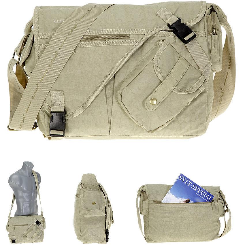 Schultertasche Schultertasche Schultertasche JONES BAG Messenger Tasche Kuriertasche Reisetasche Nylon CAMEL 729a3e