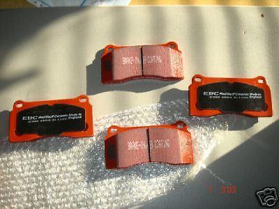 FOR JAGUAR XKR  XJR XK8 BREMBO EBC RED STUFF BRAKE PADS FRONT