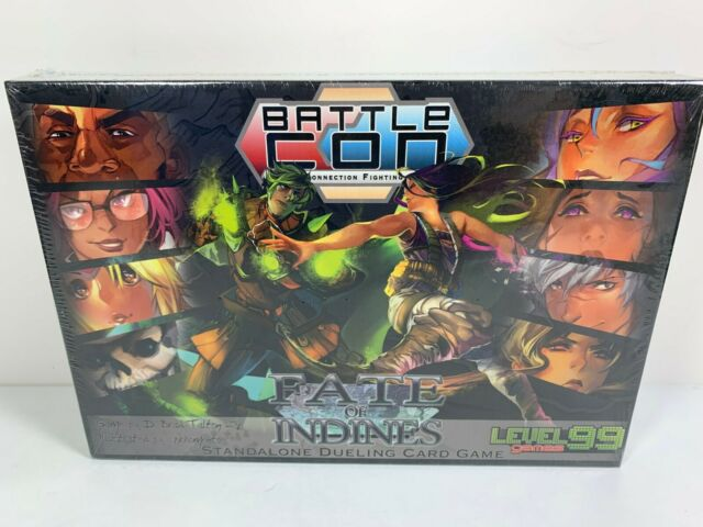 Battle Con Fate of the Indines Board Card Game By Level 99 2015 NEW Sealed