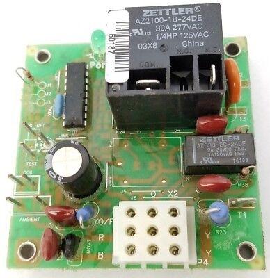 Zettler OEM Replacement Furnace Control Board AZ2100-1B-24DE