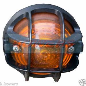 DéVoué Land Rover Defender Avant Et Feu Arrière Lampe Stone Guard Grille Led Rdx Wipac-afficher Le Titre D'origine à Vendre