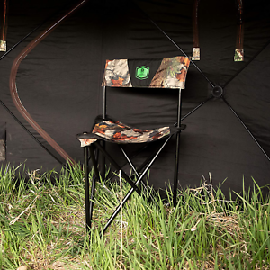 Foldable Hunting Blind Chair Portable Stool Seat Camping Hiking Light Weight
