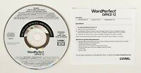 Corel Wordperfect Office 12 Full Version Quattro Pro , Presentations Pc Cd-rom