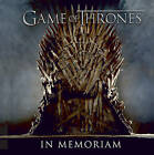 Game of Thrones: In Memoriam by Running Press (Hardback, 2015)