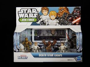 PlaySkool-Heroes-Star-Wars-Jedi-Force-Death-Star-Escape-Figure-Set-NEW