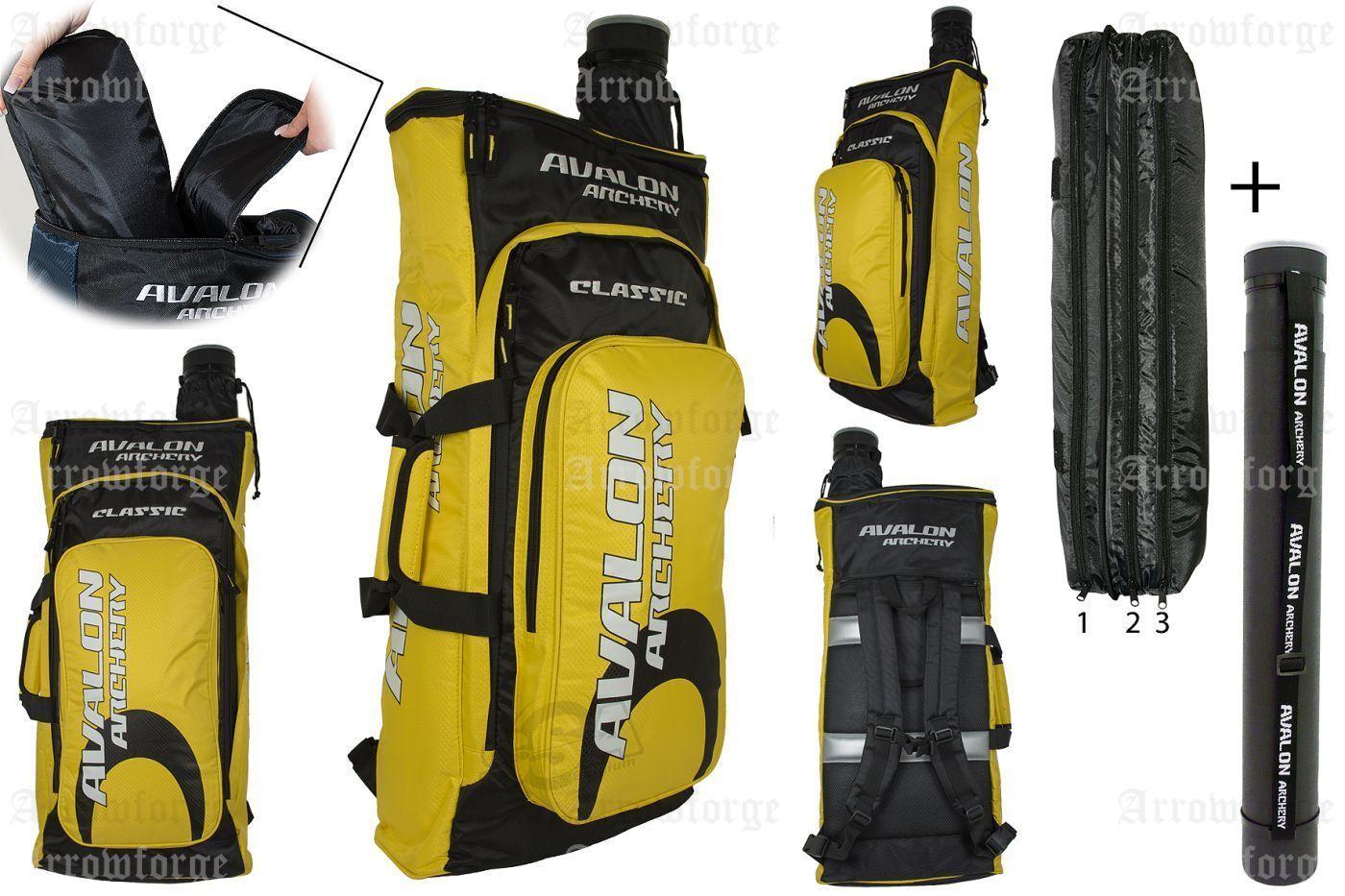 AVALON New Classic - Rucksack Rucksack Rucksack mit Pfeilröhre - Bogenrucksack- Bogenschießen 2b3feb