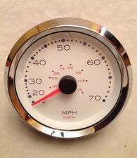 Honda OEM WHITE Speedometer 0-65 MPH Gauge Boat 63189F