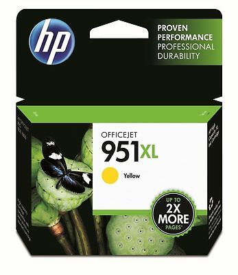 Genuine HP 951XL Yellow Ink Cartridges CN048AE for HP OfficeJet 8100 8600 8620