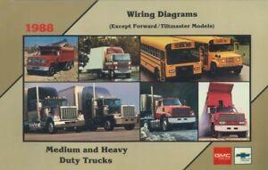 1988 Chevrolet Medium Heavy Duty Truck Wiring Diagrams Electrical Schematics  OEM | eBay | Chevrolet Truck Schematics |  | eBay