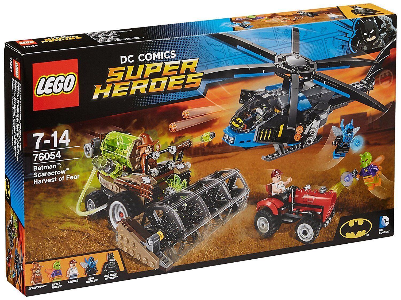 LEGO ® 76054 DC Super Heros Batuomo sautoecrows raccolto NUOVO  OVP nuovo SEALED  Spedizione gratuita al 100%