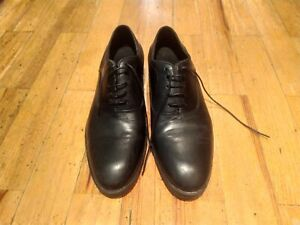 Zara Black men's dress shoes Size 42 EU, UK 8, US 8,5, AU 8