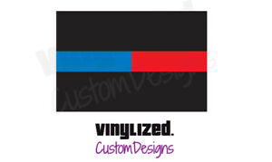 Back-Thin-Blue-Red-Line-Vinyl-Decal-LEO-Police-Officer-Support-TBL-Firefighter
